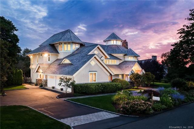 Single Family Home for Sale at Breathtaking Westport, CT Contemporary Colonial 10 Minute Man Hill Westport, Connecticut,06880 United States