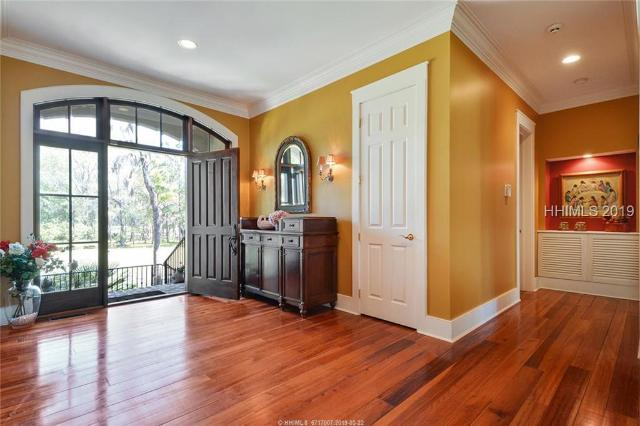 12 Hanover, Bluffton, SC, Book Shelves,Built-Ins,Ceiling Fan(s),Dehumidifier,Window Treatments,Elevator,Many Closets,Security Sys,Separate Shower,Smoke Alarm,Smooth Ceilings,Sound Sys Wire,Sunken Tub,Water Purifier,Wet Bar,Wine Rack, Colleton River Home For Sale